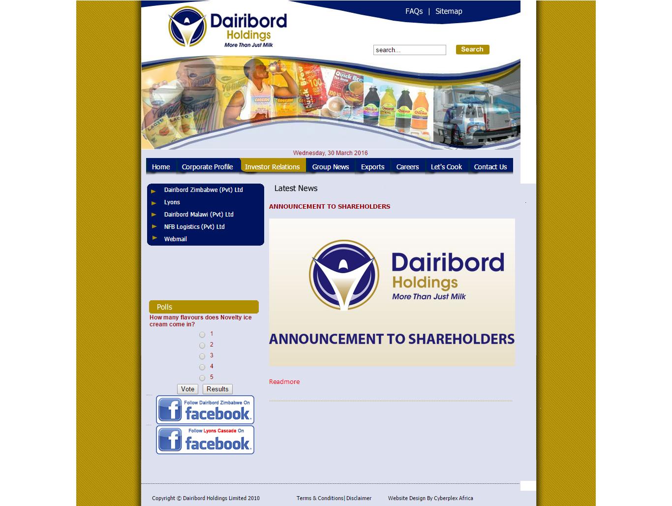 Dairiboard Zimbabwe