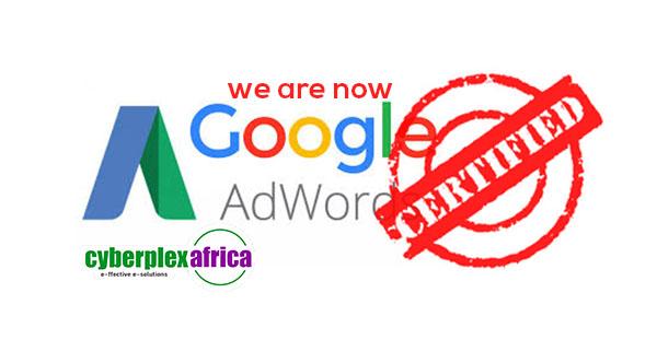 Google adwrds certified - Cyberplex Africa